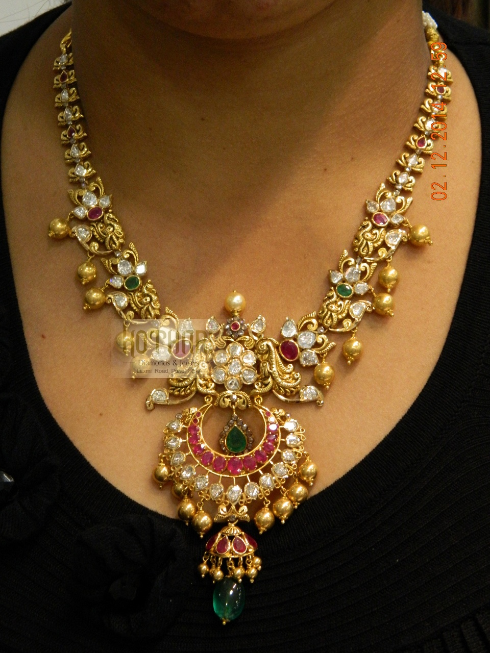 Simple Diamond Necklace Images