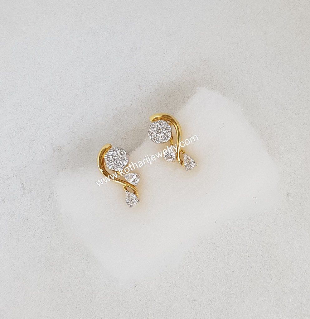 Indian Baby Diamond Earring