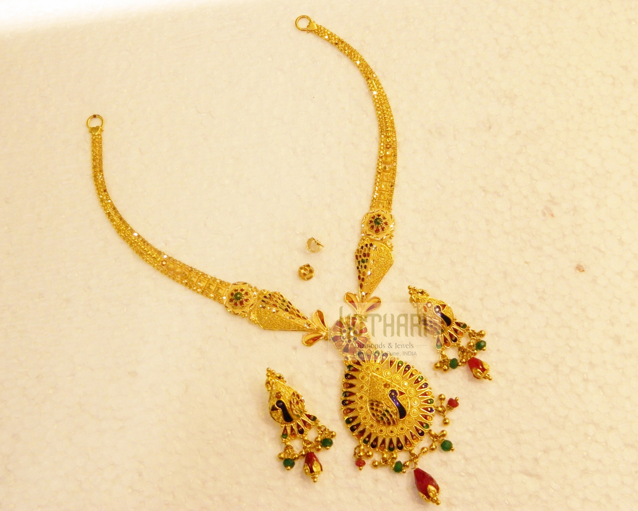 Necklaces / Harams - Gold Jewellery Necklaces / Harams (NK27712771 ...