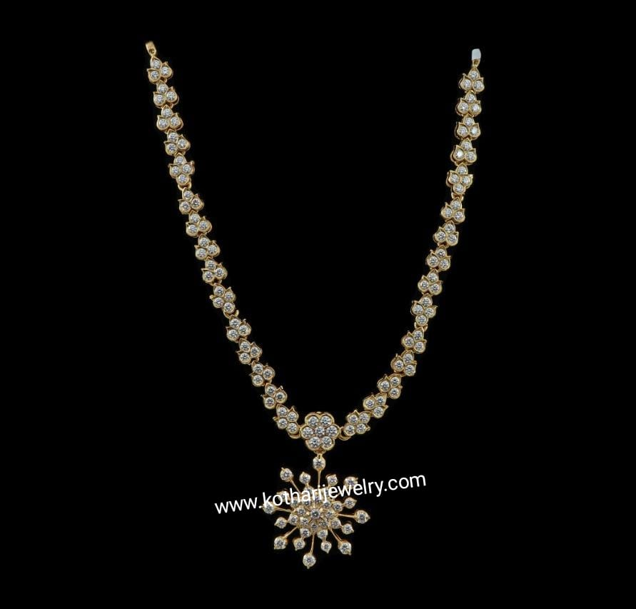 South Indian Close Setting Diamond Necklace