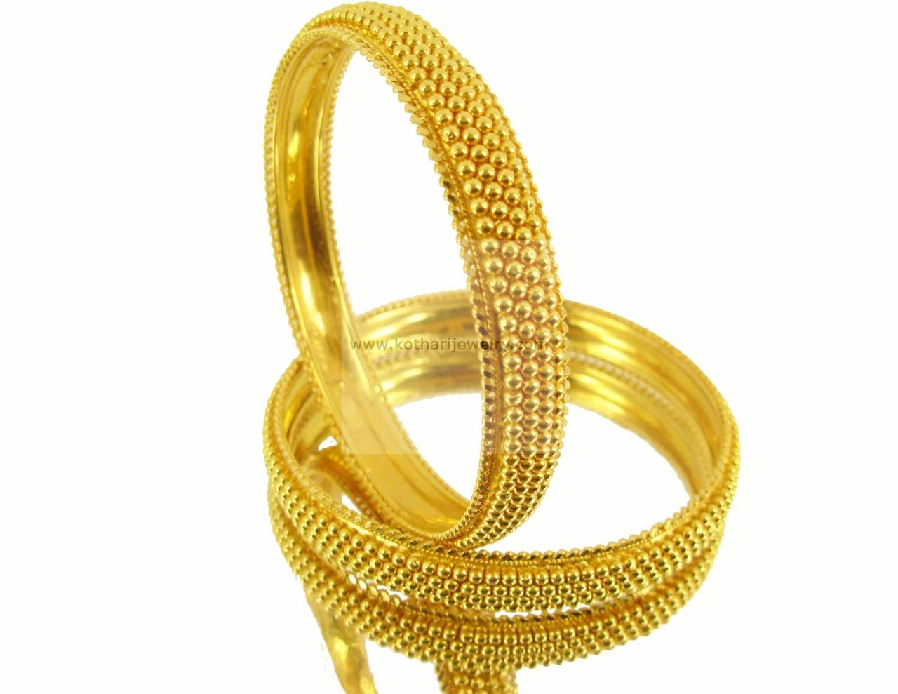22kt Plain Gold Bangle Kadas