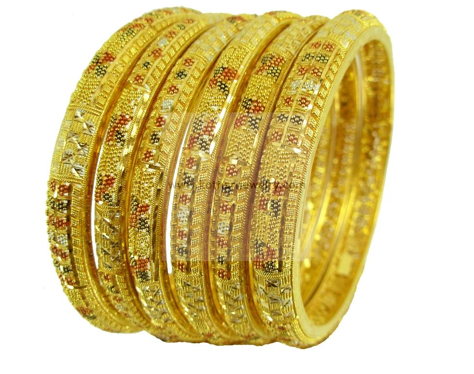 indian gold jewelry bangles
