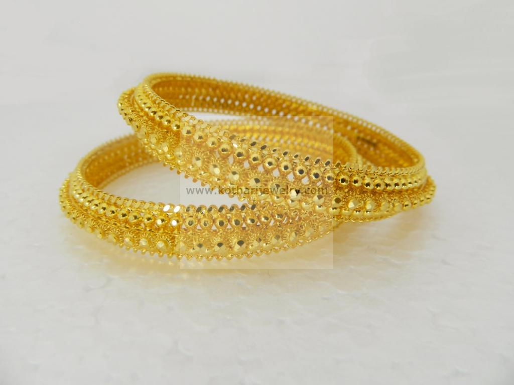 karat yellow polished beauniq bangles bracelet gold products rc bracelets bangle