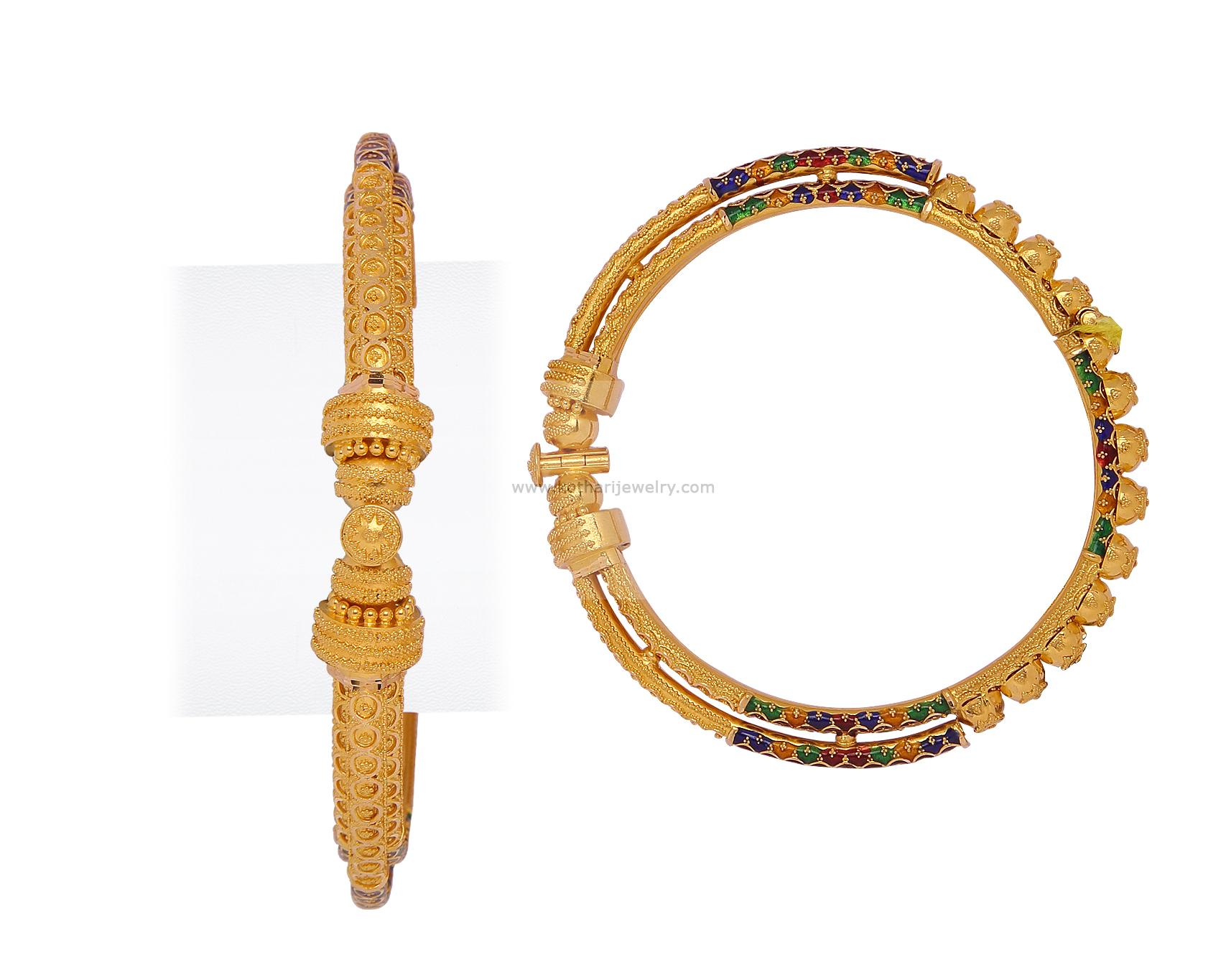 Gold Bangles - Traditional Bridal bangles, Traditional ...