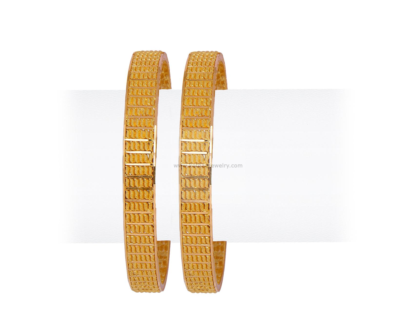 Gold Bangles - Traditional Bridal bangles, Traditional Bridal ...