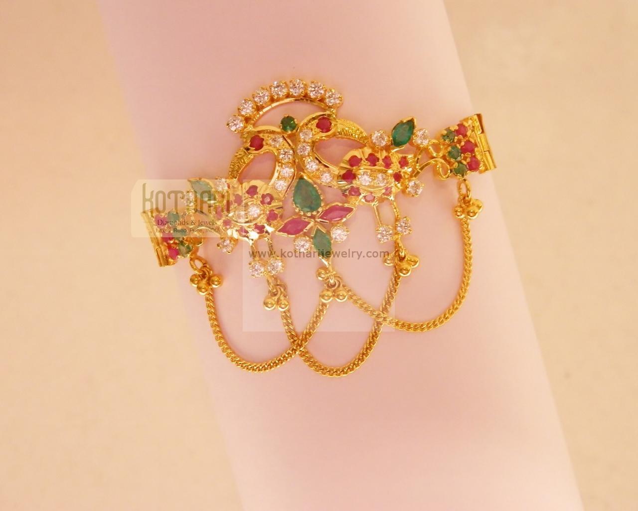 22K Baby Vanki - Baby arm bracelet