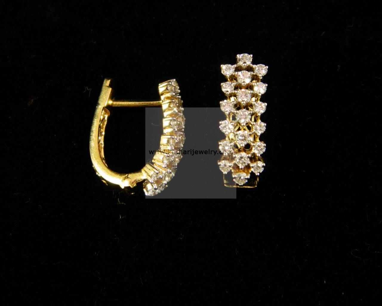Indian Diamond Bali Earrings