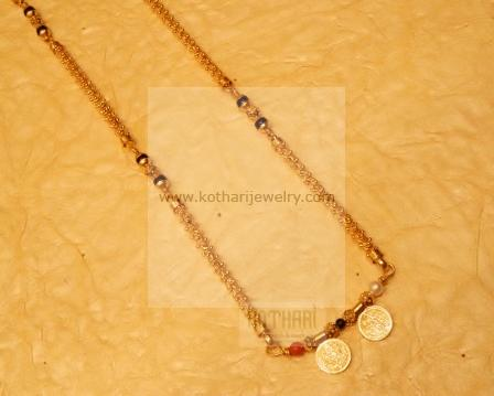 Nallapusalu Gold Chains 22kt Thali Gold Chain 22kt Gold