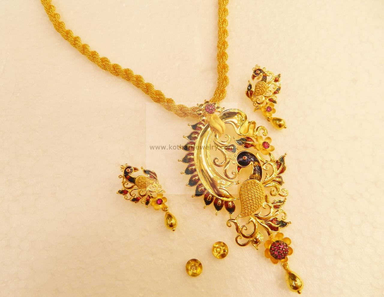Necklaces / Harams - Gold Jewellery Necklaces / Harams (NK43704370 ...