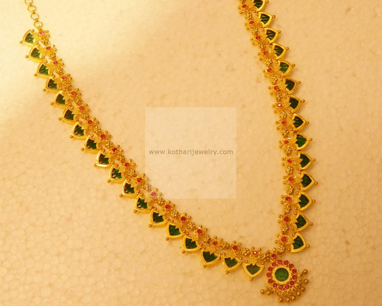 Necklaces / Harams - Gold Jewellery Necklaces / Harams ...