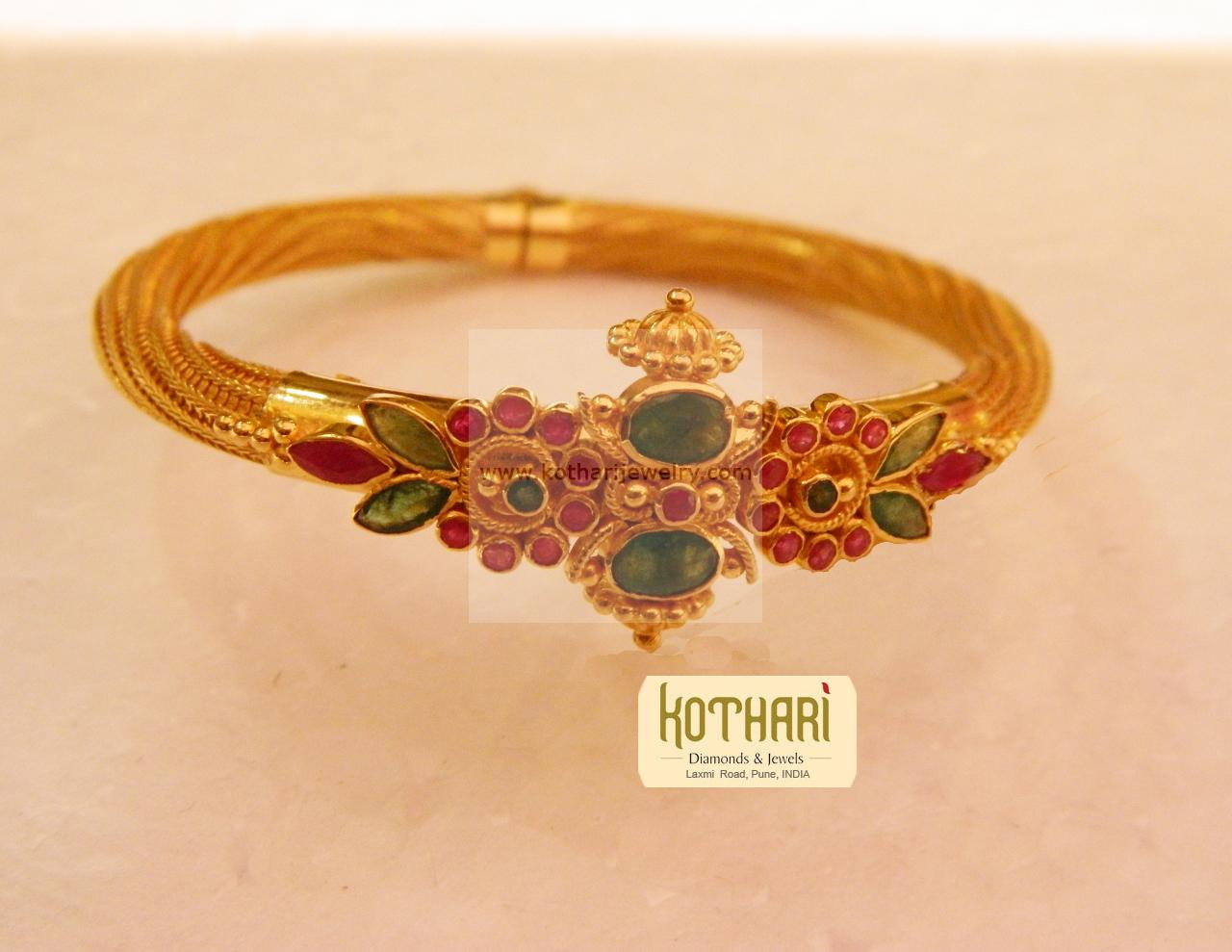and bridal store m online buy cost bangles antique s plated india gold bangle how nice a much zoom women bracelets does