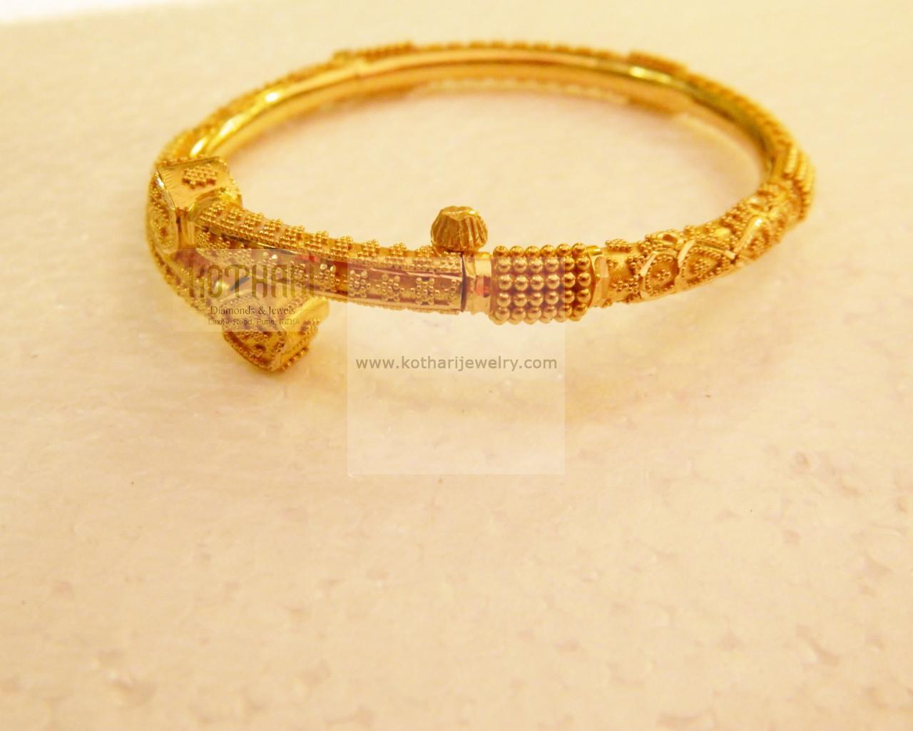 Bangles / Bracelets / Kada - Gold Jewellery Bangles / Bracelets ...