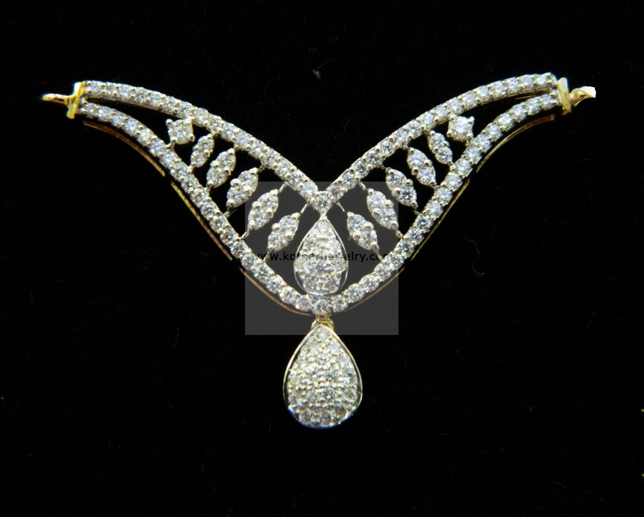 18kt Indian Diamond Mangalsutra