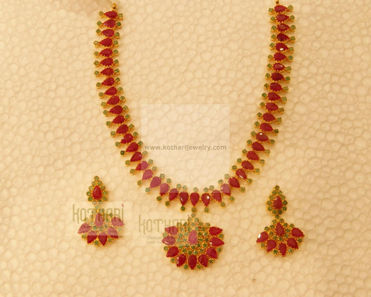 Necklaces / Harams - Gold Jewellery Necklaces / Harams (NK44254425 ...