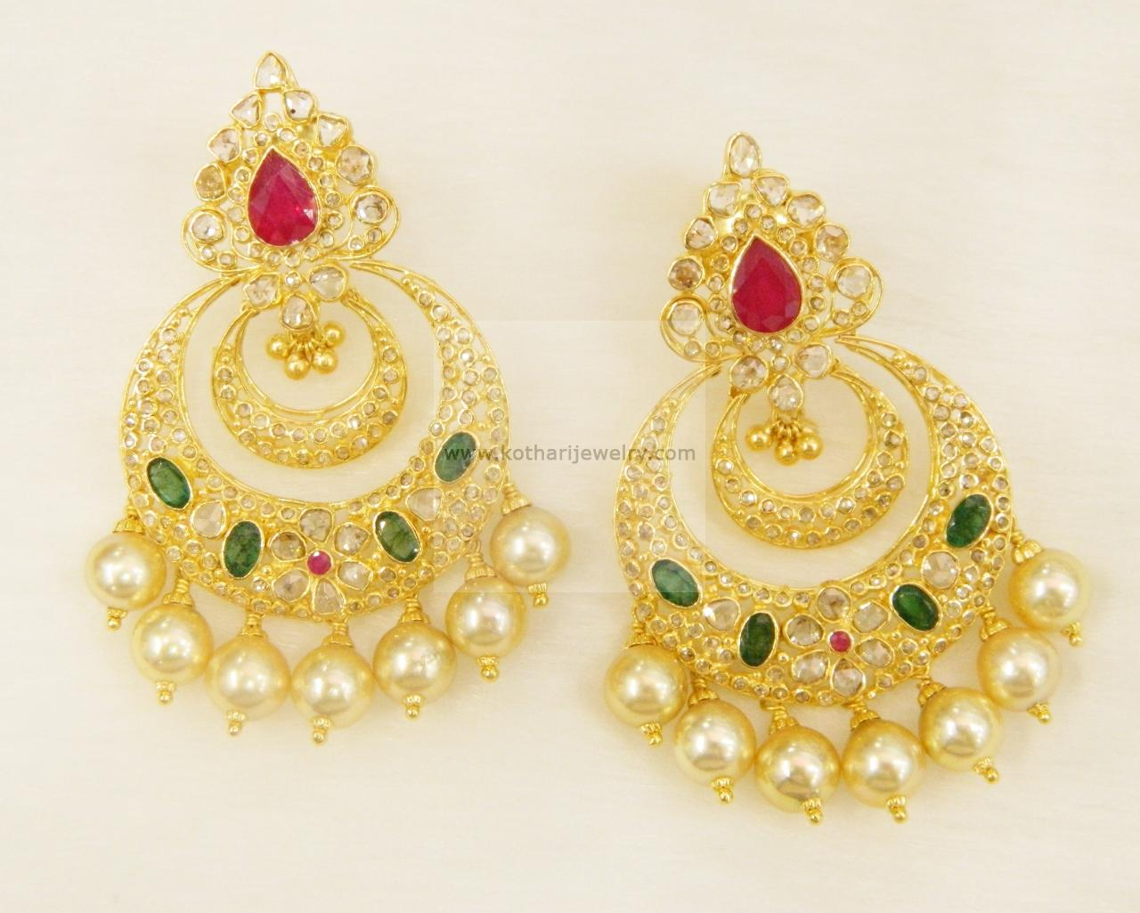 Earrings Jhumkis Chandbali Gold Jewellery Usd 1 977 56