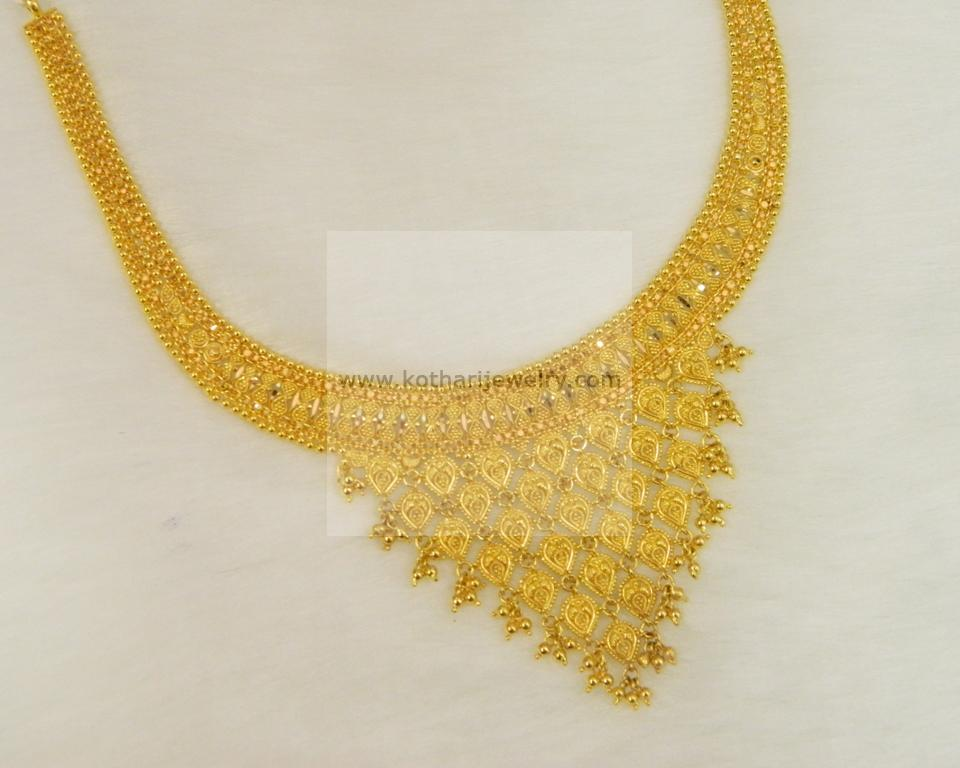 Necklaces / Harams - Gold Jewellery Necklaces / Harams (NK28002800 ...