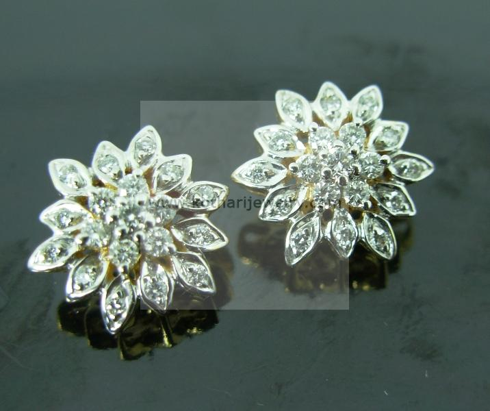 Nakshatra 7 Stone Diamond Earrings