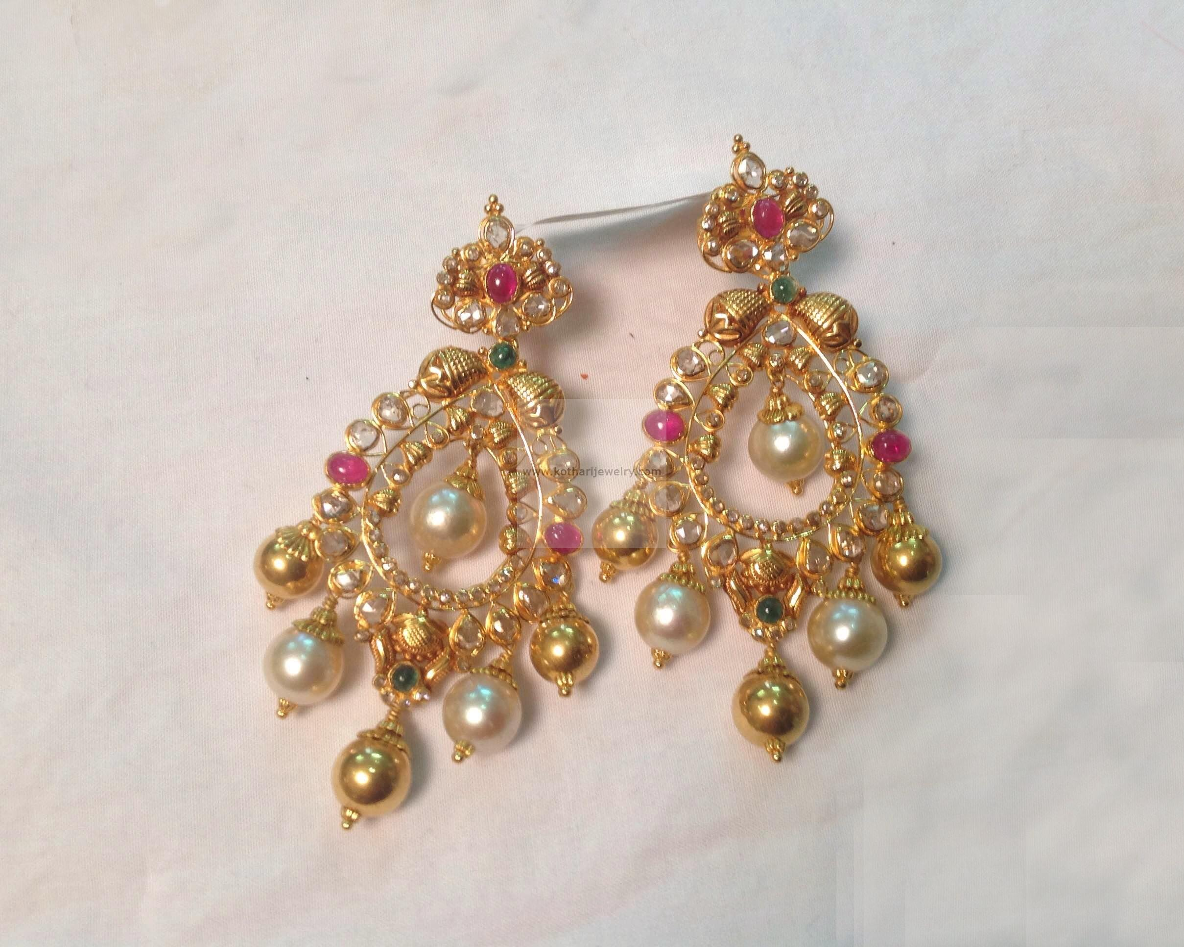 earrings jacket gold cubic c crawler crescent zirconia products plated ear original jackets crystal collections