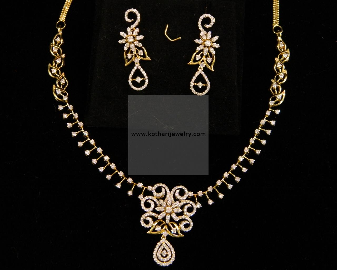 diamond pan marquise necklace vvs pin