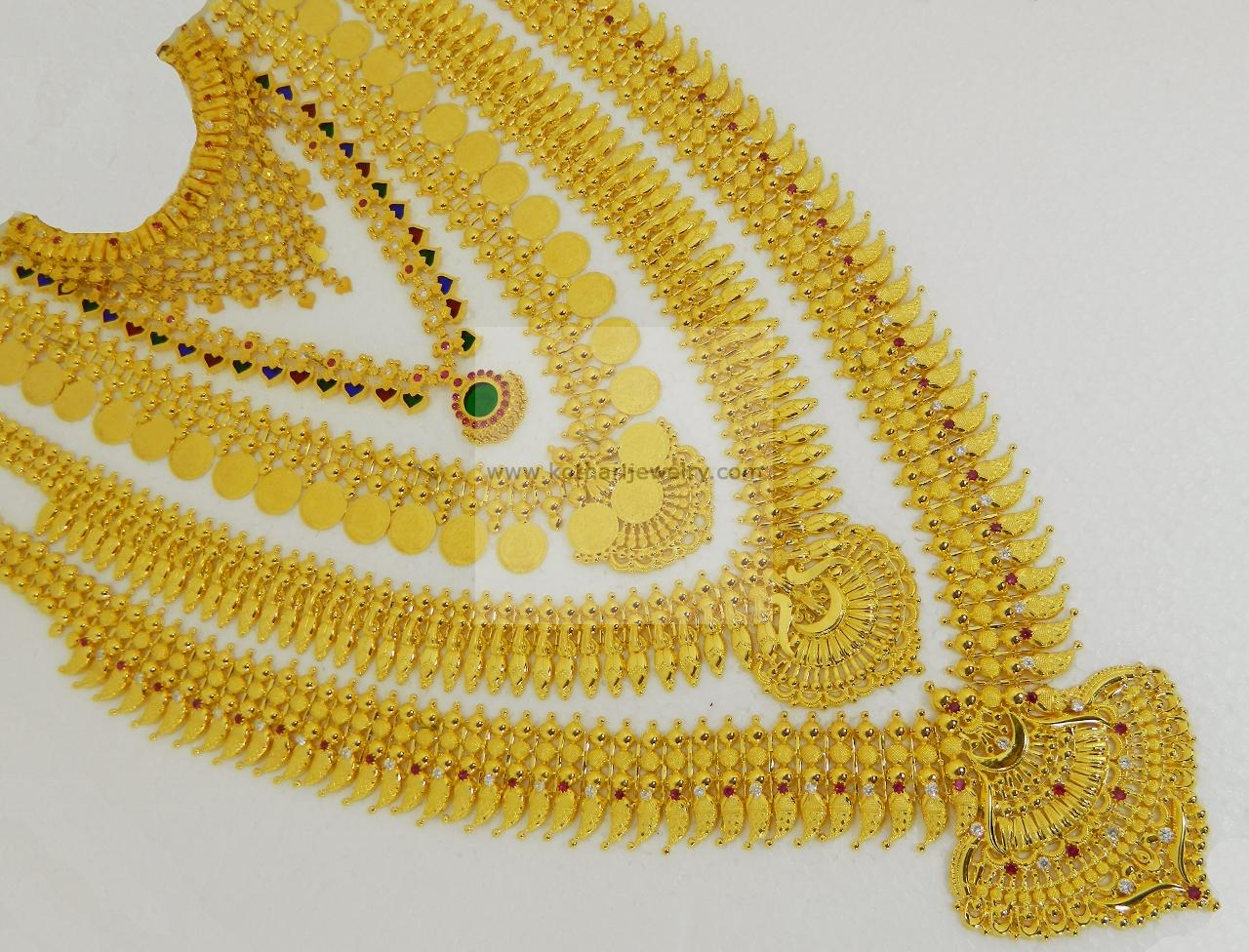Necklaces / Harams - Gold Jewellery Necklaces / Harams (NK00038376 ...
