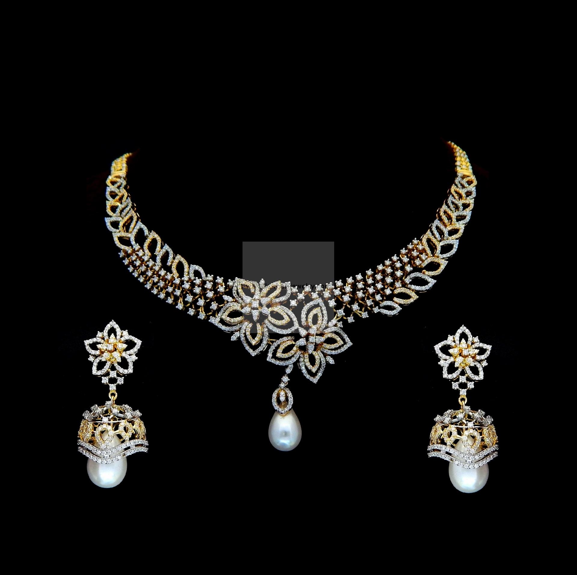 dsc akoya and brooch japanese diamond primary vvs products attached platinum estate pearl necklace