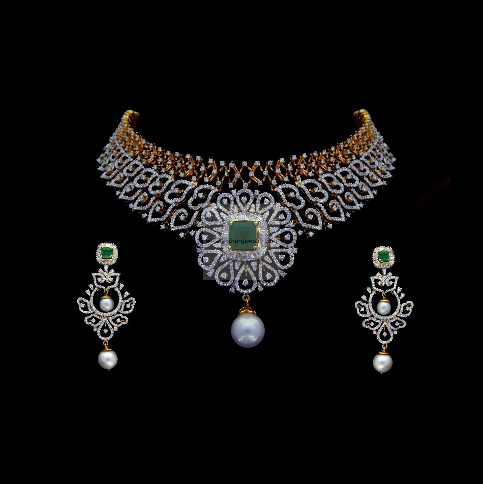 sets necklace diamond vvs