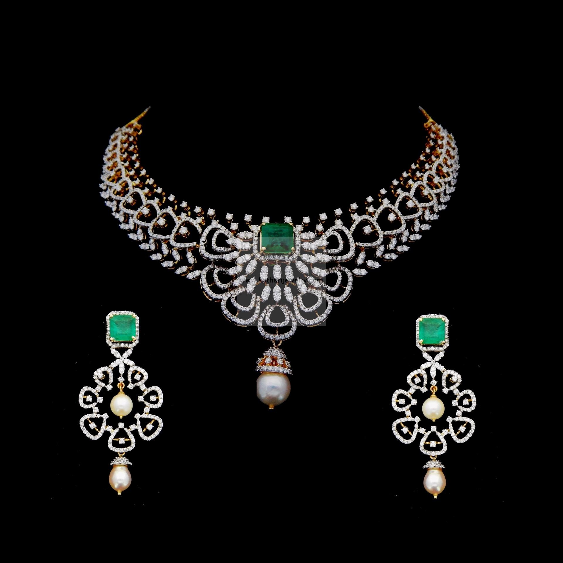 diamond of kundan jewellery ruby necklace set american emerald and indian online