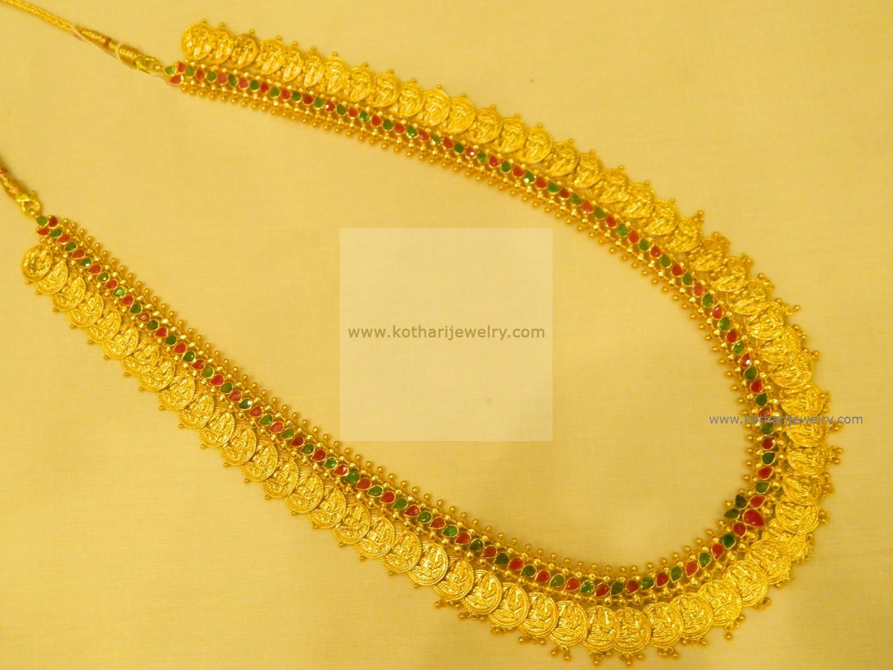 Necklaces / Harams - Gold Jewellery Necklaces / Harams (NK66103305-20 ...