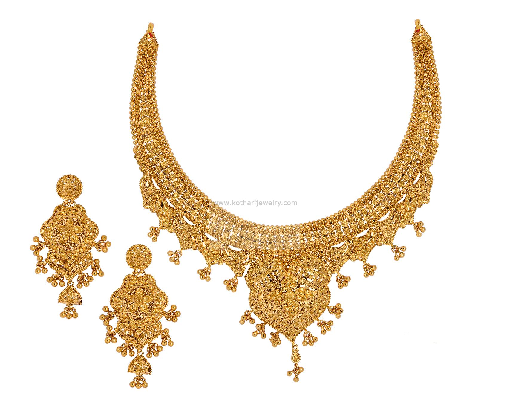 Necklaces / Harams - Gold Jewellery Necklaces / Harams (NKARH00009 ...