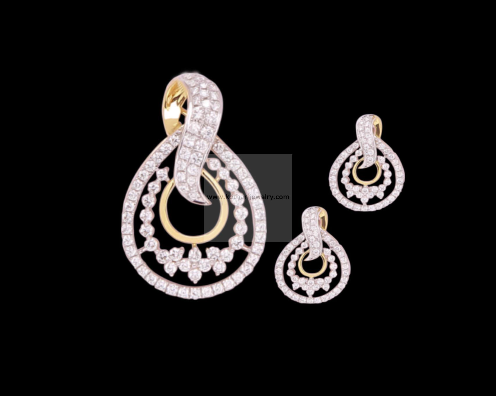 Diamond pendants diamond pendant and earrings indian diamond bridal heavy diamond pendant set pddia00001 indian aloadofball Image collections