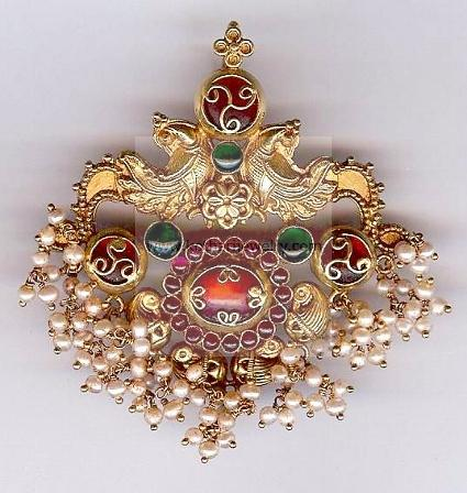 lakshmi pendant gold other ganesh with laxmi god details pendants and religious
